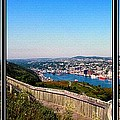 Tower Over The City Triptych by Barbara Griffin