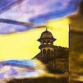 Tower Reflection by Prakash Ghai