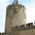 Tower Town Wall - Carcassonne by Christiane Schulze Art And Photography