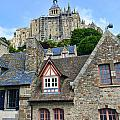Towering Mont St. Michel by Crystal Nederman