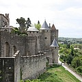 Towers And Townwall  - Carcassonne by Christiane Schulze Art And Photography