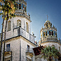 Towers At Hearst Castle - California by Jon Berghoff