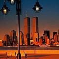 Towers Framed by Bruce Bain