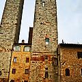Towers Of San Gimignano by Elvis Vaughn