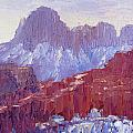 Towers Of The Virgin Valley by Terry  Chacon