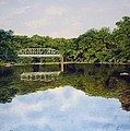 Town Bridge by Sharon Farber