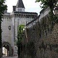 Town Gate - Loches - France by Christiane Schulze Art And Photography