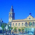 Town Hall In Ecija Spain by Bruce Nutting