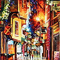 Town In England by Leonid Afremov