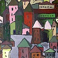 Town by J Nell  Bliss