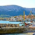 Town Of Baska Island Krk by Brch Photography