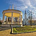 Town Of Bjelovar Central Park by Brch Photography