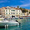 Town Of Hvar Waterfront View by Brch Photography