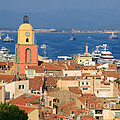 Town Of St Tropez Cote D'azur France by Matteo Colombo