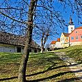 Town Of Varazdinske Toplice Center Park by Brch Photography