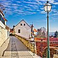 Town Of Varazdinske Toplice Walkway by Brch Photography