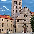 Town Of Zadar Historic Church by Brch Photography