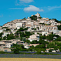 Town On A Hill, D51, Sault, Vaucluse by Panoramic Images