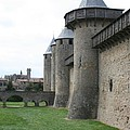 Town Wall - Carcassonne by Christiane Schulze Art And Photography