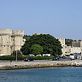 Town Wall - Rhodos City by Christiane Schulze Art And Photography