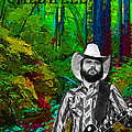 Toy Caldwell In The Woods by Ben Upham