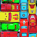 Toy Cars by Muriel De Seze