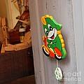 Toy Makers Door by April Antonia