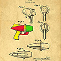 Toy Ray Gun Patent II by Edward Fielding