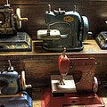 Toy Sewing Machines by Jane Linders