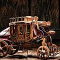 Toy Stagecoach by Olivier Le Queinec
