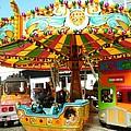 Toy Town Carousel  by Loreta Mickiene
