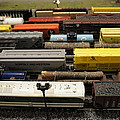 Toy Trains by Laurie Perry