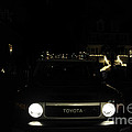 Toyota Fj Holiday Lights by Dale Powell