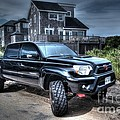 Toyota Tacoma Trd Truck by Robert Loe