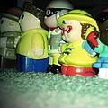 Toys In A Row by Jannice Walker