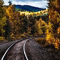 Tracks Through The Mountains  by Bob Orsillo