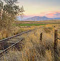 Tracks To The Portneufs by Idaho Scenic Images Linda Lantzy