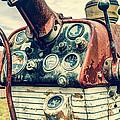 Tractor Dash - Farmall 560 Diesel by Gary Heller
