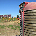 Tractor On The Pumpkin Farm by Minding My  Visions by Adri and Ray