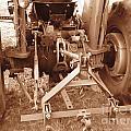Tractor Series 002 by Serena Ballard