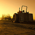 Tractor Sunrise by Puget  Exposure