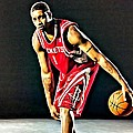 Tracy Mcgrady Portrait by Florian Rodarte
