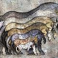 Traditional Horses by Betsy Knapp