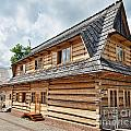 Traditional House In The High Tatra Mountains Poland by Frank Bach