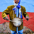 Traditional Musician I by Amit jung Kc