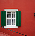 Traditional Red House by Grigorios Moraitis