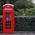 Traditional Red Telephone Box In London by Dutourdumonde Photography