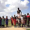 Traditional Samburu Dance by Deborah Benbrook