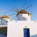 Traditional Windmill In A Village by Panoramic Images