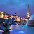 Trafalgar Square by Brian Jannsen
